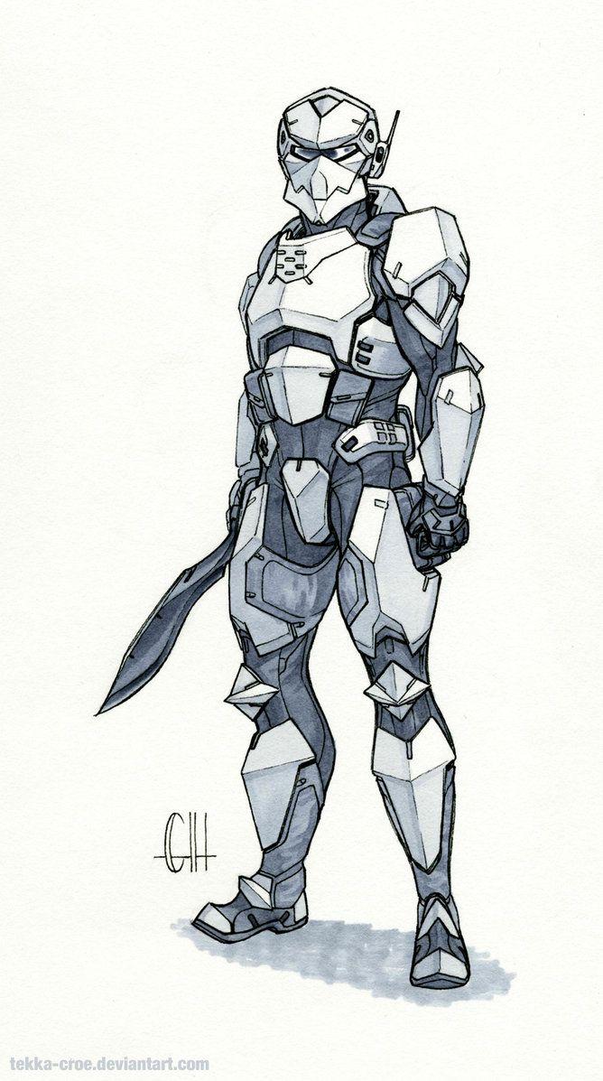Inktober Day 12 (Captain Bannon) by Tekka-Croe.deviantart.com on @DeviantArt