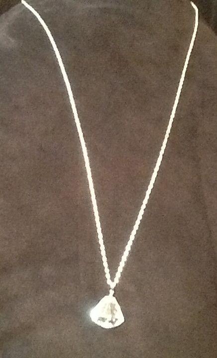Cubic Zirconia bell pendant