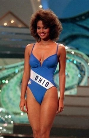 Young Halle Berry in a Blue Sw... is listed (or ranked) 6 on the list 30 Pictures of Young Halle Berry