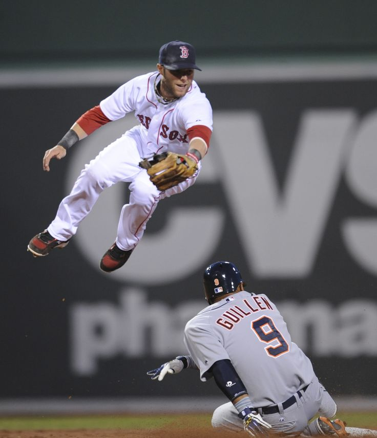 Dustin Pedroia -> Welcome to the Laser Show