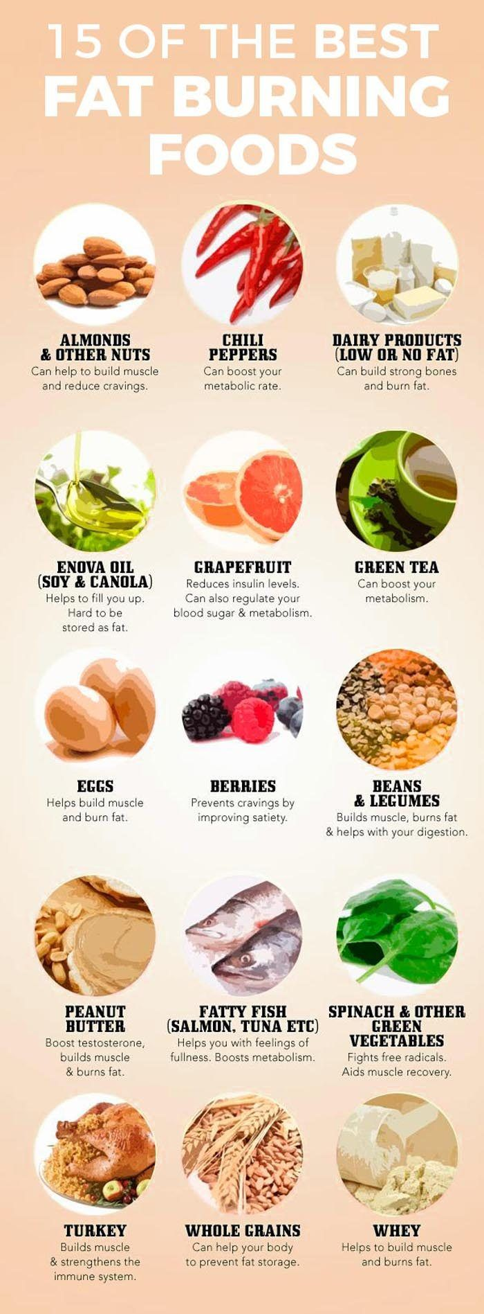 best fat burning foods to help lose weight