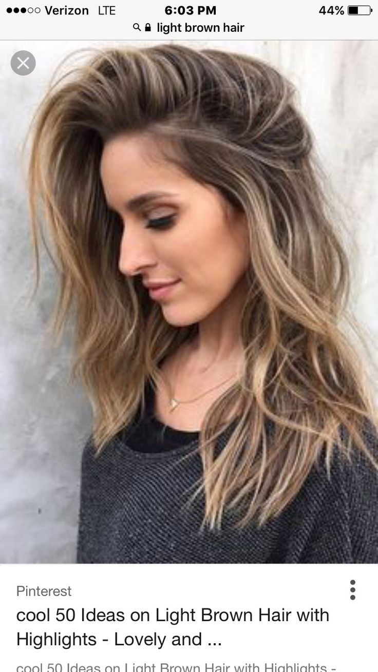Light Brown Hair A Little Bit Of Everything Pinterest