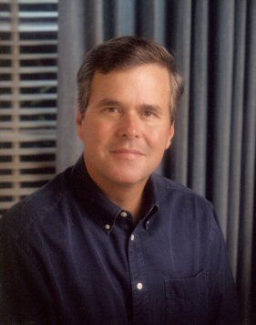 "John Ellis ""Jeb"" Bush. An American politician who served as the 43rd Governor of Florida from 1999 to 2007. Son of President George and Barbara Bush."