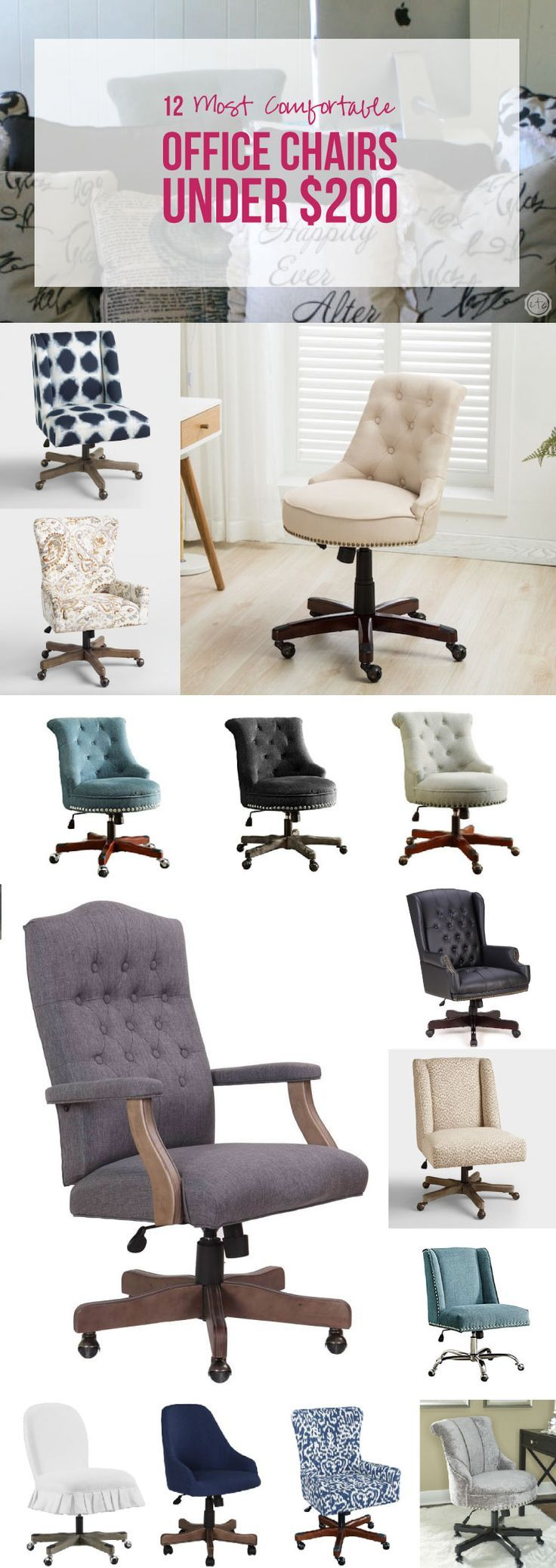 12 Most Comfortable Office Chairs Under 200 Most