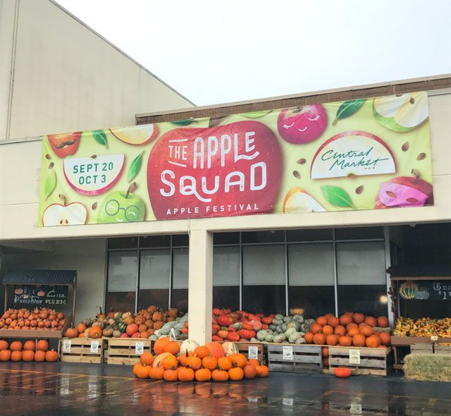 If you're in Texas, Central Market's Apple Festival is a must see!