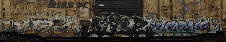 Train Car Graffiti [5760x1080] (OC)