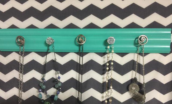 A personal favorite from my Etsy shop https://www.etsy.com/listing/501945006/wall-hanging-jewelry-organizer