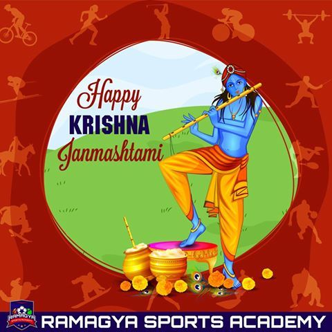 Janmashtami wishes to all! This janmashtami learn music at Ramagya Sports Academy (in collaboration with Indian Idol Academy). #Ramagya #music #learn #IndianIdolAcademy #football #instrumentalmusic #vocal #hindustani #festival #celebration