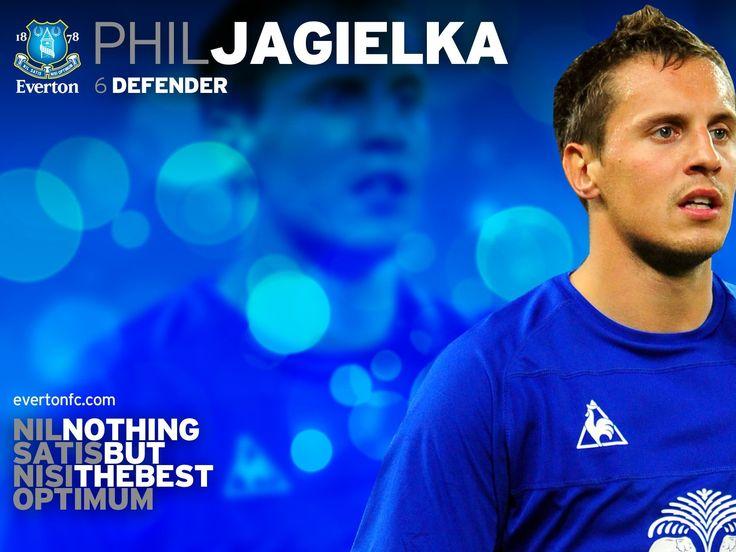 Phil Jagielka Everton Wallpaper