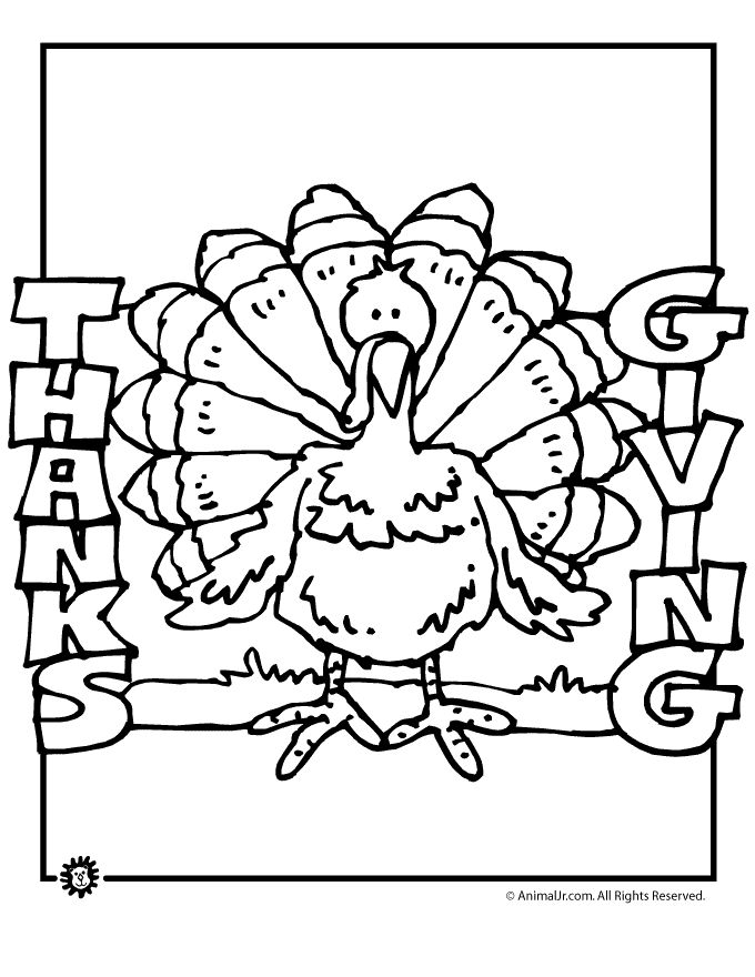 The 104 best Thanksgiving Coloring Pages images on Pinterest | Free ...
