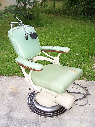 Vintage Dentist Chair Black Leather And A Half 17 Best Antique Dental Chairs Images On Pinterest | Barber Chair, Dentistry