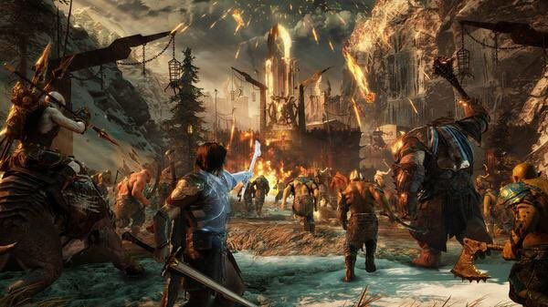 Vice Games On Twitter Middle Earth Shadow Shadow Of Mordor Middle Earth
