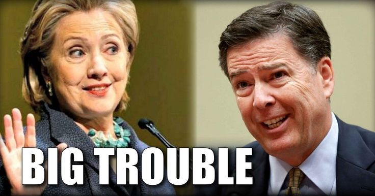 BAD NEWS For Crooked Hillary And Leaking Comey ...