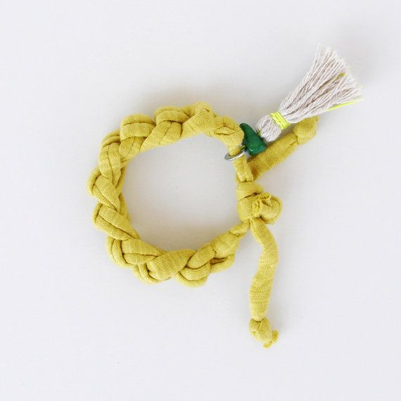 Crochet Bracelet BONBON jewelry Friendship by OTOjewelryANDdesign