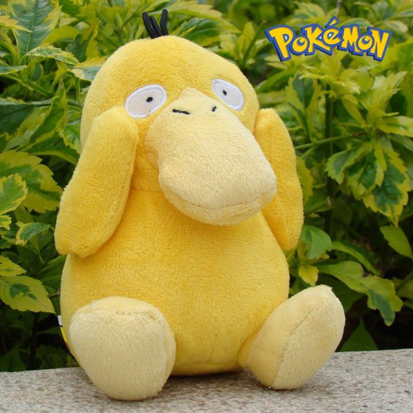 "Nintendo Pokemon Plush Toy Psyduck 5"" Game Collectible Stuffed Animal Doll NEW"