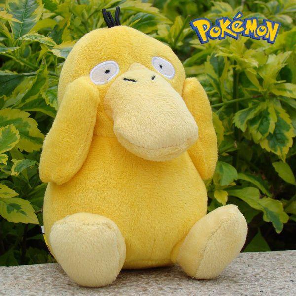 "Nintendo Pokemon Plush Toy Psyduck 5"" Game Collectible Stuffed Animal Doll NEW"