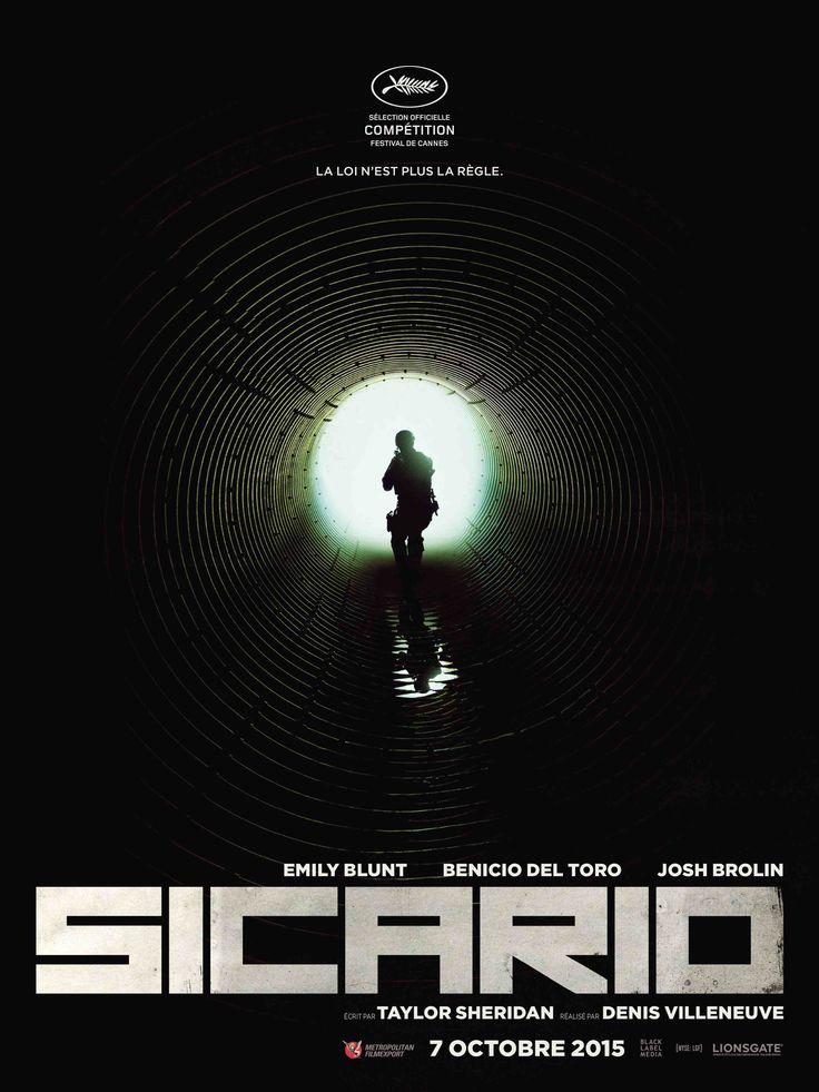Sicario réalisé par Denis Villeneuve présenté le 19 mai 2015. Au ciné le 07 octobre.