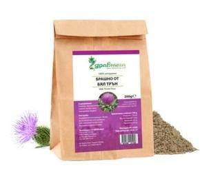 Useful properties of flour thistle / thistle / - Problems with cheren liver and bile; - Lowers cholesterol levels; - Reducing insulin resistance in humans with diabetes of the second type, which have cirrhosis; - Restricts the growth of tumor cells in breast, prostate and cervical cancer; - Minimize the side effects of chemotherapy; - Act preventively for symptoms of disease; - Stabilizes blood sugar levels; - Improved kidney function; - Relieves pain during menstruation; - Helps in diseases…