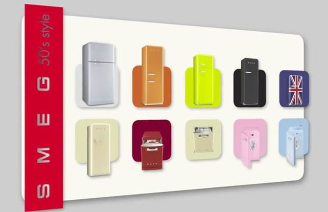 Smeg 50's Retro Video Launches in Style!