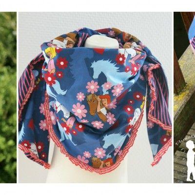 """undefined - Anfang September gab es bei Stoffe-Hemmers auf der Facebookseite eine kleine Umfrage, welche 2 Farben von den 7 wir am schönsten finden. Mein Kommentar war: """"Wenn dann Blau, aber mir ist da persönlich zuviel drauf"""". Es wurde dann tatsächlich auch Blau. Und der Postbote brachte mir dann auch Bibi & Tina Flower Baumwolljersey zum Vernähen! […]"""