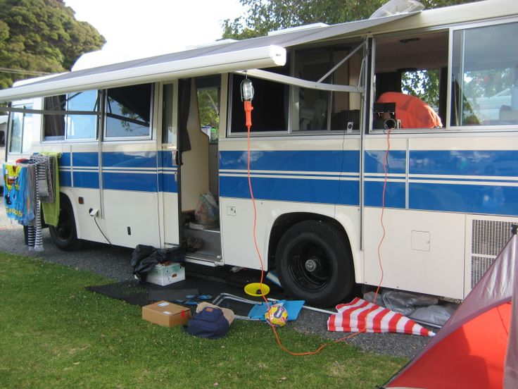 We have nice big easy access sites for big buses when you want to join us and stay camping.
