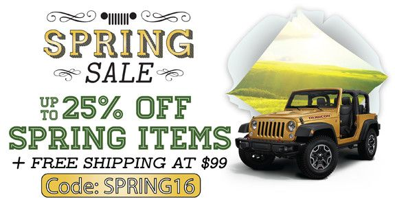 All things jeep coupons discounts