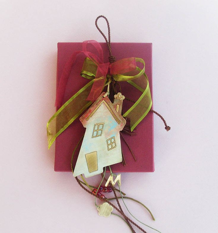 Lucky Charm / WOODEN HOUSE Lucky Charm by allabouthandicraft on Etsy