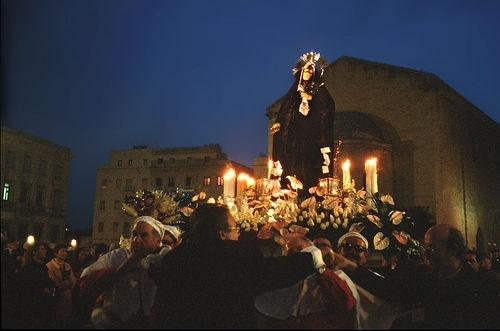 The Addolorata - Processione dei Misteri, Trapani, Sicily