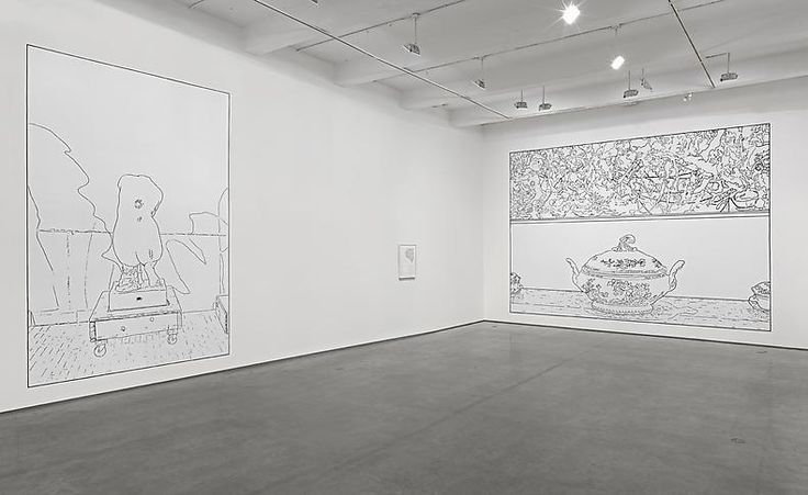 Louise Lawler. No Drones, 2014. Installation view at Metro Pictures, New York, 2014.