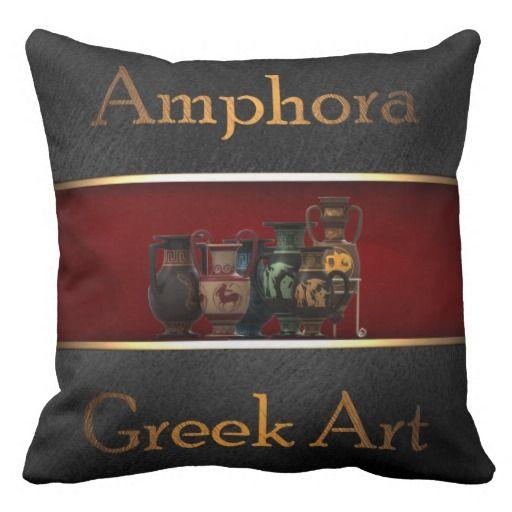 Greek Art Pillows