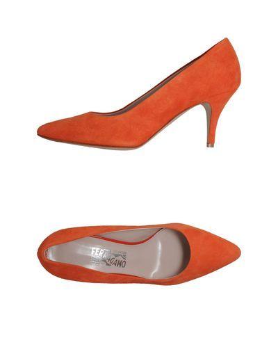 Туфли Salvatore Ferragamo 44468856 Серый кожа, мех, замша 18080 руб.