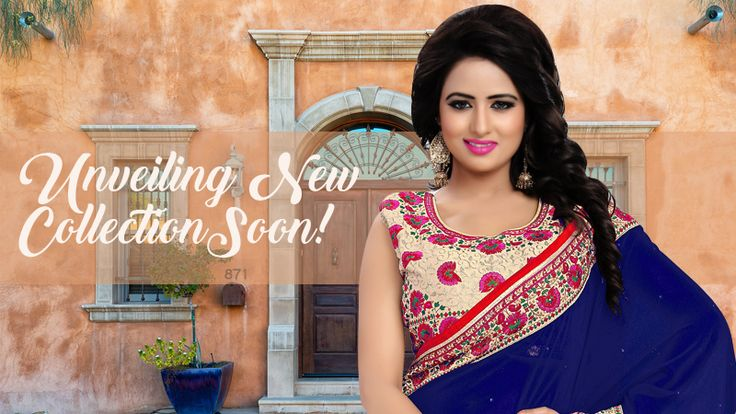 Sit tight! We are unveiling new collection of most beautiful designer sarees soon!