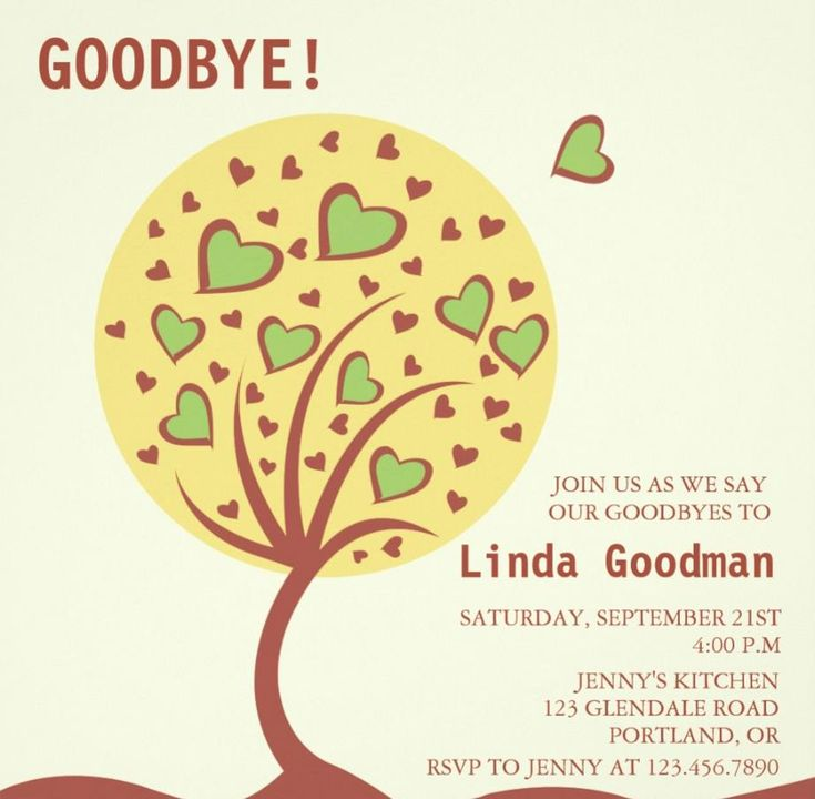 21 Best 20+ Farewell Party Invitation Templates – Psd,Ai,Indesign