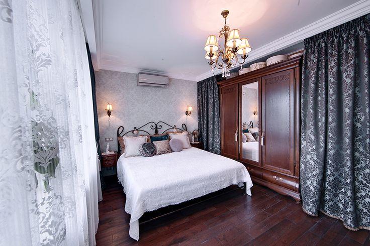 Спальня в винтажном стиле. Бюро интерьерного дизайна Порядок Вещей