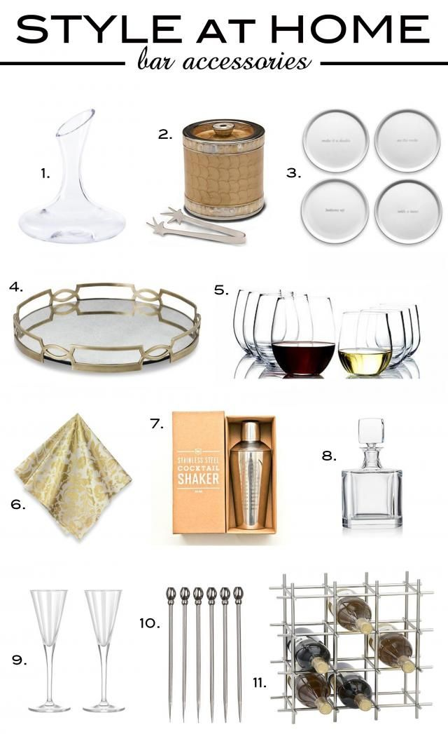 Style At Home Bar Accessories Simon Malls