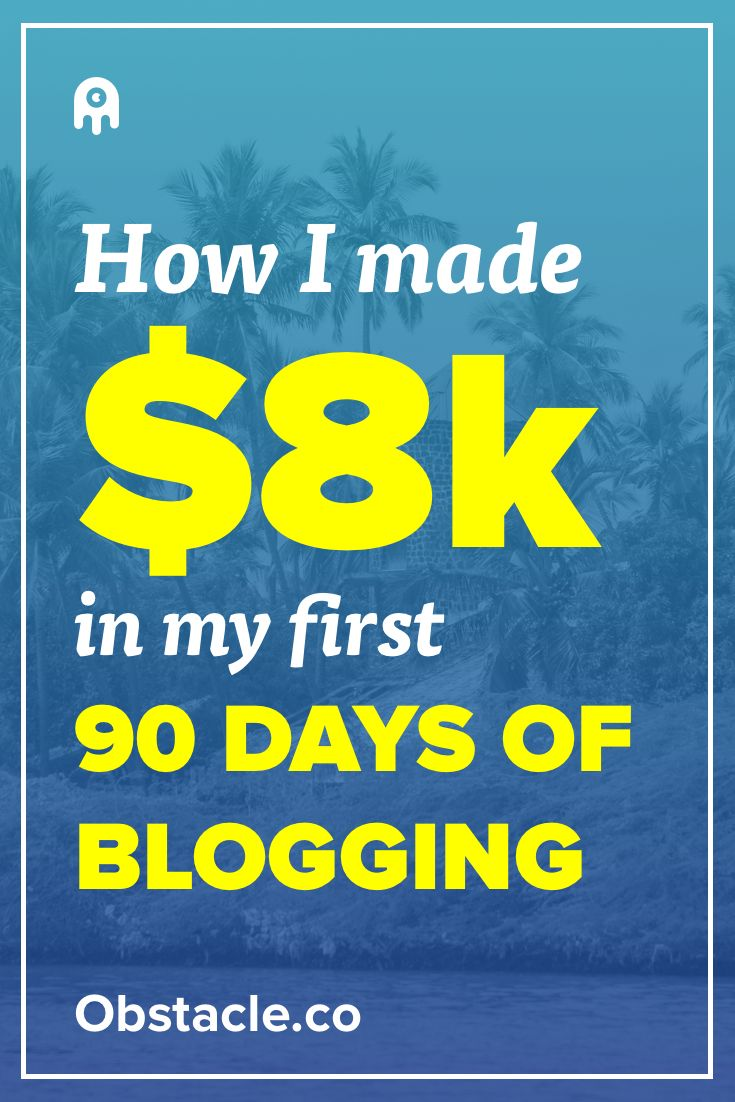 Yo! Over $8,000 in 90 days for a blog is pretty good! Here is how it was done without resorting to ads.