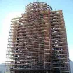 Get scaffolding on rent from Baba Jagta Shutteing at reasonable cost. Wide range of scaffolding offered by it includes tele prop, cup lock, ledger, steel channel, U jack, joint pins, steel plates, clam and base jack. These scaffolding materials are widely used in all types of construction projects.http://www.babajagtashuttering.com/about.html