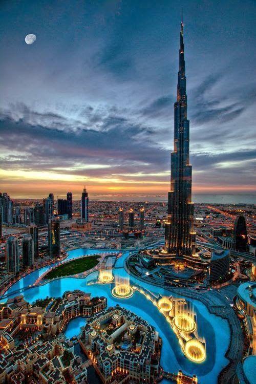 Burj Khalifa, Dubai -- 30 Stunning Places You Have To Visit - Part 1 | Destinations Planet