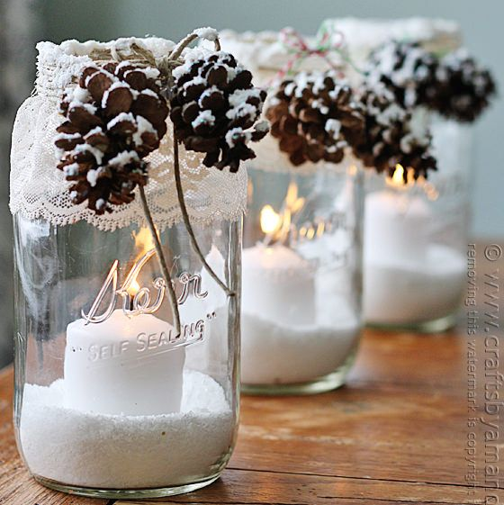 snowy-pinecone-candle-jars4
