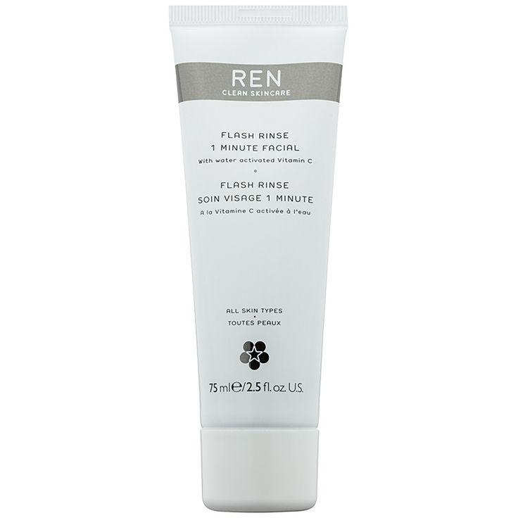 REN Flash intenzívna maska pre okamžité zlepšenie vzhľadu pleti  75 ml