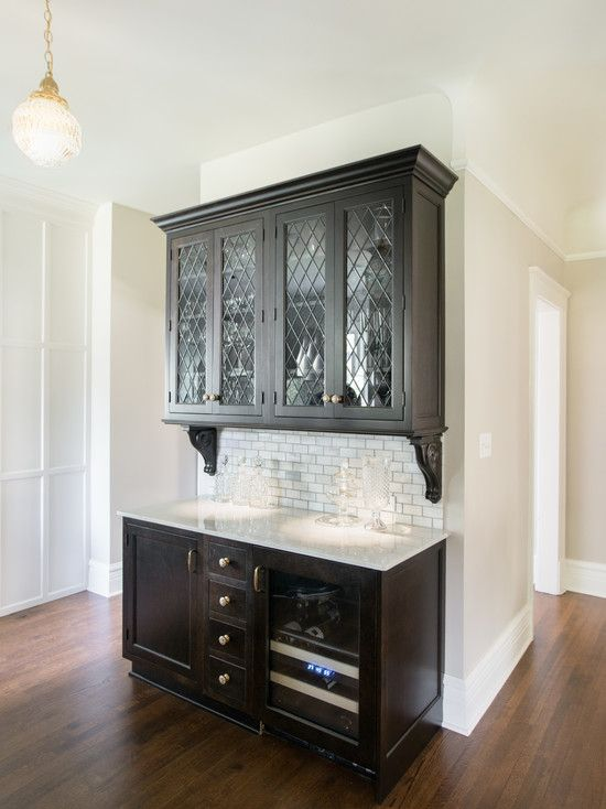 Kristin Petro Interiors - kitchens - butlers pantry, butlers pantry design, butlers pantry ideas, leaded glass cabinets, leaded glass kitche...