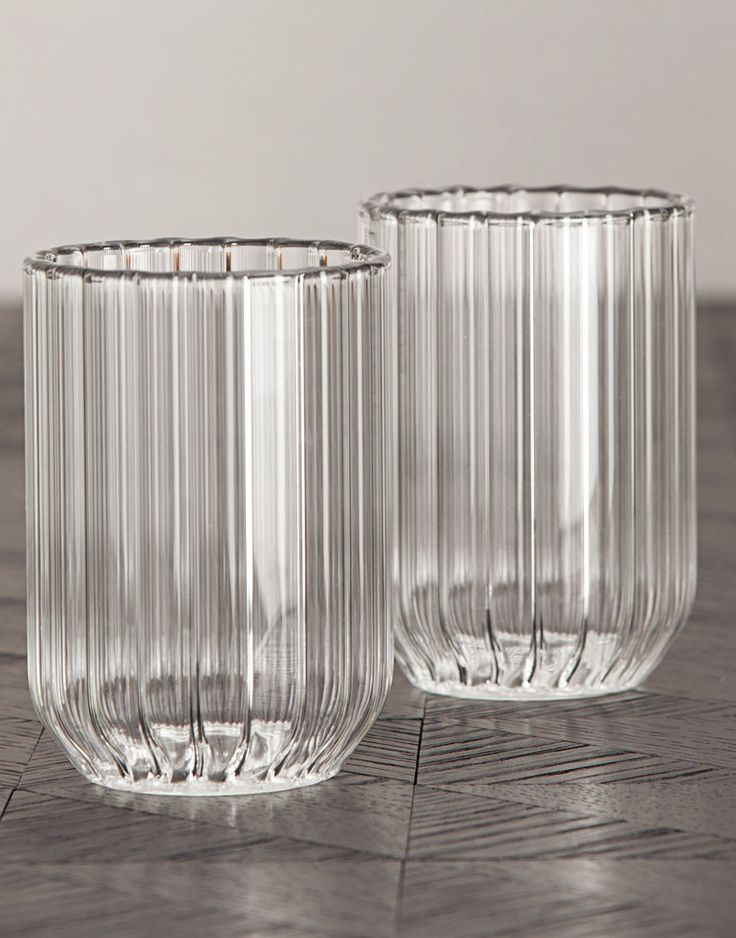 FFERRONE | WATER GLASSES. Handcrafted by master glassblowers in the Czech…