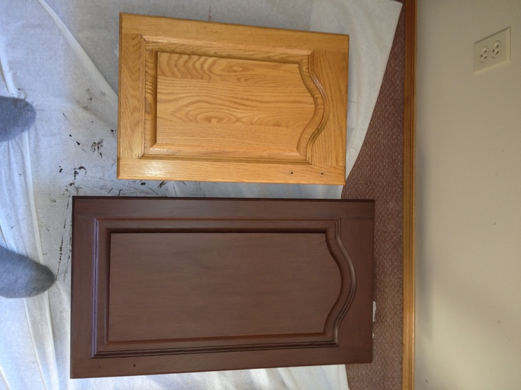 A Cabinet Refinishing Kit Is Cheap And A Very Easy Way To