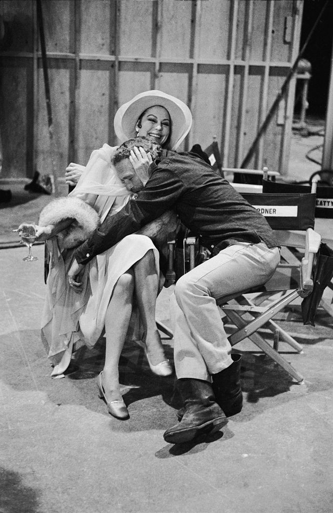 Paul Newman and Ava Gardner