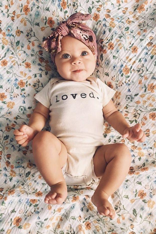 Liebte Bio-Strampler, Baby, Junge, Mädchen, Unisex, geschlechtsneutral, Säugli…