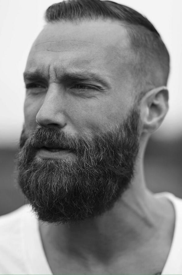 .Hot man with a great beard. (bearded men, handsome, beards)