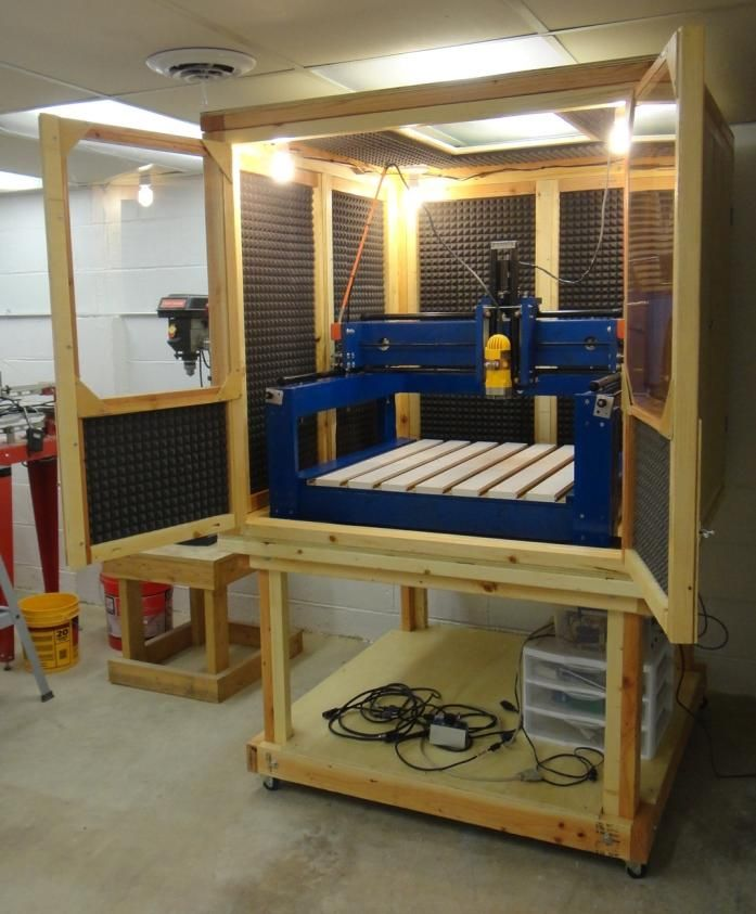 The last couple of days I have been varnishing the CNC enclosure part by part. Eight doors, enclosure frame, enclosure stand, and enclosur...