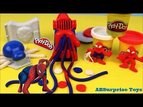 p 226 te 224 modeler outils playdoh سبيدرمان ألع toys for