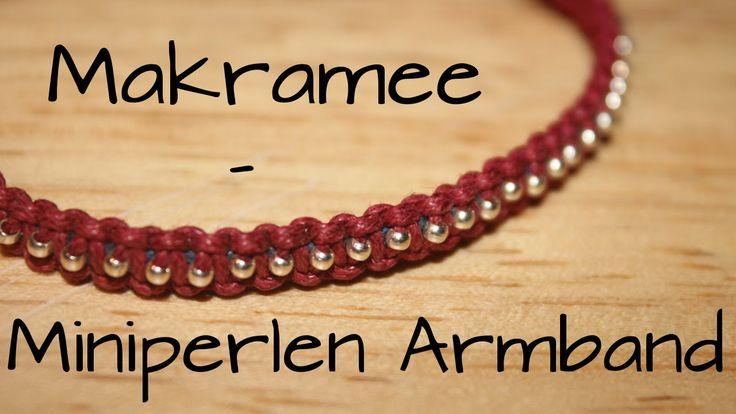 Makramee: Miniperlen Armband | DIY