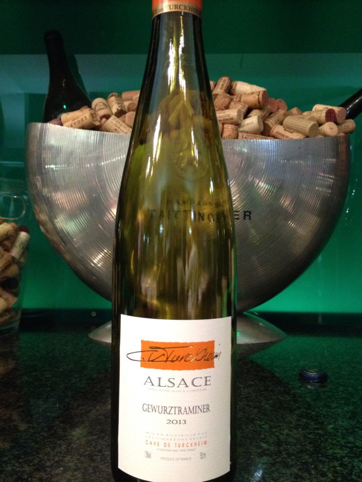 Lovely Gewurtztraminer from Alsace